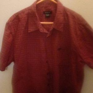 Calvin Klein short sleeve button-down shirt